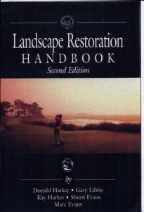 Landscape Restoration Handbook  Second Edition PDF