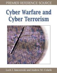 Cyber Warfare And Cyber Terrorism Book PDF