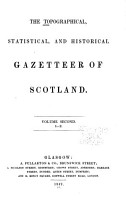 The Topographical  Statistical  and Historical Gazetteer of Scotland  I Z PDF