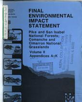 Pike National Forest (N.F.): Environmental Impact Statement, Volume 2