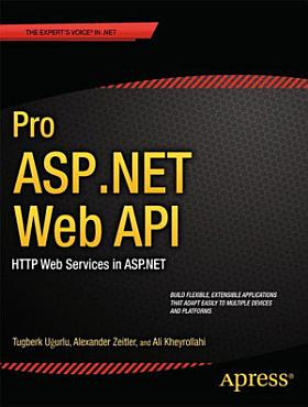 Pro ASP NET Web API PDF
