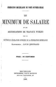 Le minimum de salaire et les adjudications de travaux publics PDF