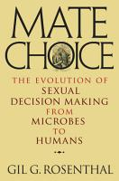 Mate Choice PDF