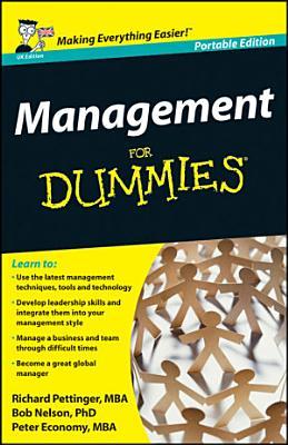 Management For Dummies  UK Edition PDF