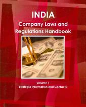 India Company Laws and Regulations Handbook