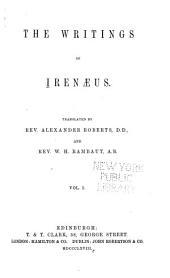 Ante-Nicene Christian Library: Ireanaeus, v. 1 (1868)