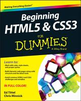 Beginning HTML5 and CSS3 For Dummies PDF