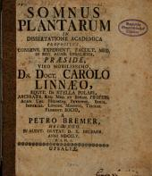 Somnus plantarum