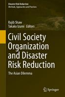 Civil Society Organization and Disaster Risk Reduction PDF