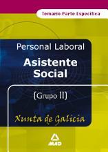 Asistente social de la xunta de galicia  Temario PDF