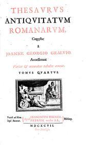 Thesaurus antiquitatum romanarum: Tomus quintus