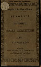 Synopsis of the contents of the great exhibition of 1851: Volume 1