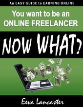 You want to be an Online Freelancer... Now What?: An Easy Guide to Earning Online
