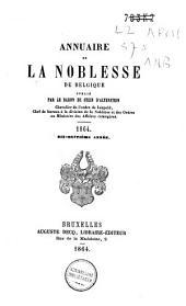Annuaire de la noblesse de Belgique: Volume18