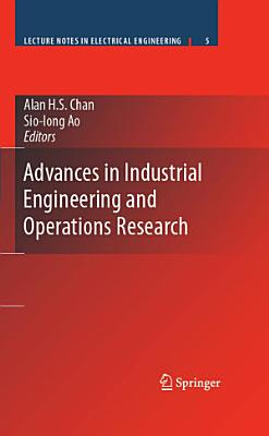 Advances in Industrial Engineering and Operations Research PDF