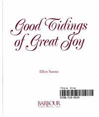 Good Tidings of Great Joy Cover 2 PDF