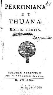 Perroniana et Thuana