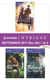 Harlequin Intrigue September 2017 - Box Set 1 of 2: Dead Ringer\Bullseye: SEAL\Ms. Calculation