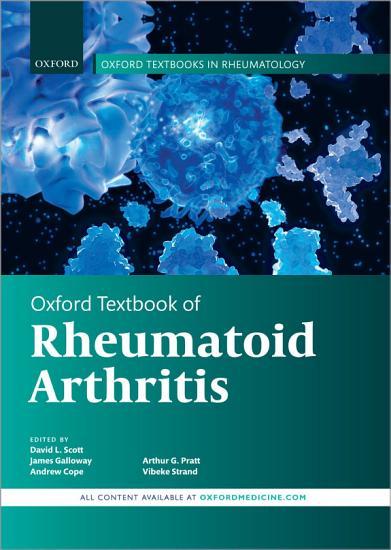 Oxford Textbook of Rheumatoid Arthritis PDF