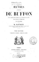 Œuvres complètes de Buffon: 9: Introduction aux minéraux; Époques de la nature