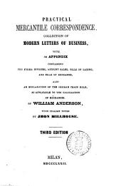 Practical Mercantile Correspondence Collection of Modern Letters of Businness ... by William Anderson