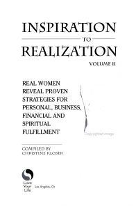 Inspiration to Realization  Volume II PDF