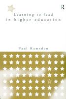 Learning to Lead in Higher Education PDF