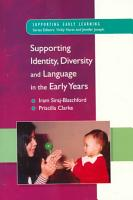 Supporting Identity  Diversity And Language In The Early Years PDF