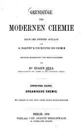 Grundzüge der modernen Chemie: Organische Chemie, Band 2
