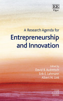 A Research Agenda for Entrepreneurship and Innovation PDF