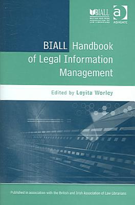 BIALL Handbook of Legal Information Management PDF