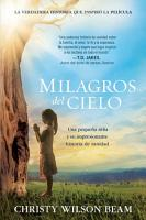 Milagros del cielo   Miracles from Heaven PDF