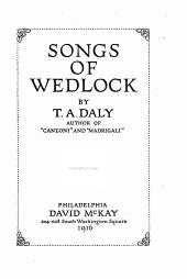 Songs of wedlock