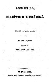 Othello, mauřenjn Benátský