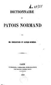 Dictionnaire Du Patois Normand