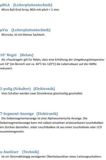 Lexikon   Glossar  Grundlagen Begriffe Wortschatz Elektronik Lexikon   Glossar  Grundlagen Begriffe Wortschatz Elektronik Alphabetical index of 2000 technical terms electronics PDF