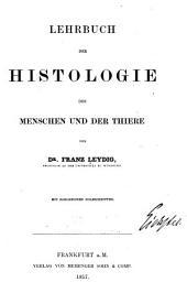 Lehrbuch der Histologie des Menschen und der Thiere