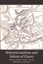 Selected orations and letters of Cicero
