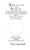 Ab  lard und Heloisa PDF