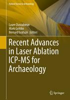 Recent Advances in Laser Ablation ICP MS for Archaeology PDF