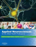 Applied Neuroscience for the Allied Health Professions E Book PDF