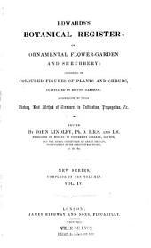 Botanical register...