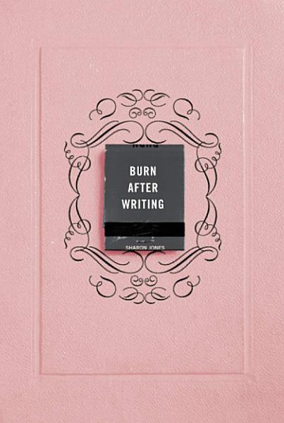 Download Burn After Writing Book