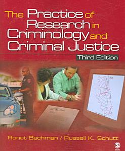 The Practice of Research in Criminology and Criminal Justice PDF