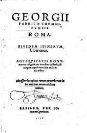 Itinerum liber unus