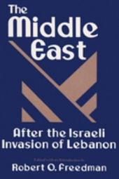 The Middle East After the Israeli Invasion of Lebanon
