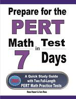 Prepare for the PERT Math Test in 7 Days