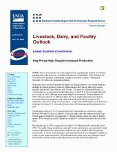 Livestock, Dairy, and Poultry Outlook Oct. 28, 2004