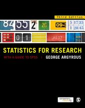 Statistics for Research: With a Guide to SPSS, Edition 3