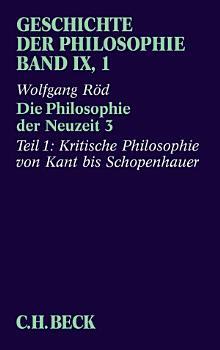 Geschichte der Philosophie Bd  9 1  Die Philosophie der Neuzeit 3 PDF